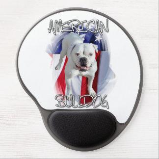 American Bulldog Gel Mouse Pad