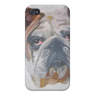 American Bulldog iPhone 4 Case