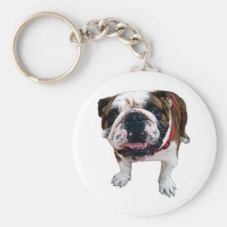 American Bulldog Key Chain