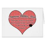 American Bulldog Mixes Paw Prints Dog Humor Greeting Cards