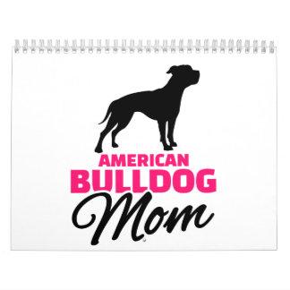 American Bulldog Mom Calendar