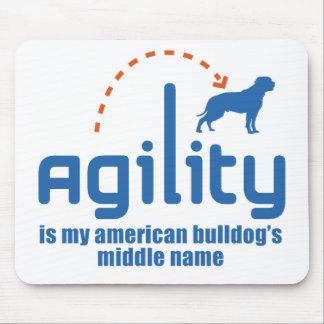 American Bulldog Mouse Mat