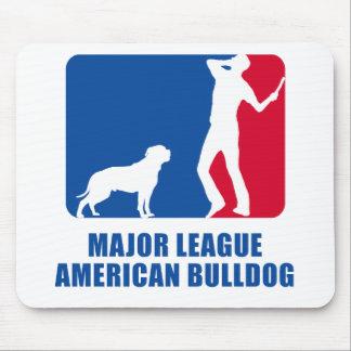 American Bulldog Mouse Mats