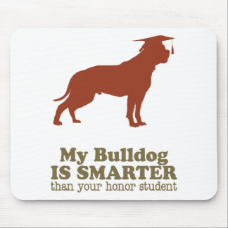 American Bulldog Mouse Pads