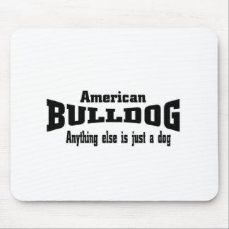 American Bulldog Mouse Pad