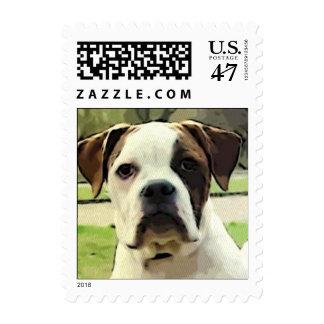 American bulldog postage