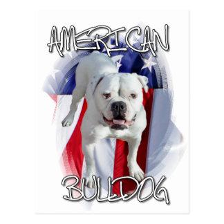 American Bulldog Postcard