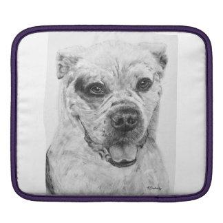 American Bulldog Smiling Sleeve For iPads