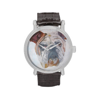 American Bulldog Wrist Watch