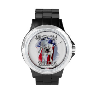 American Bulldog Wristwatch