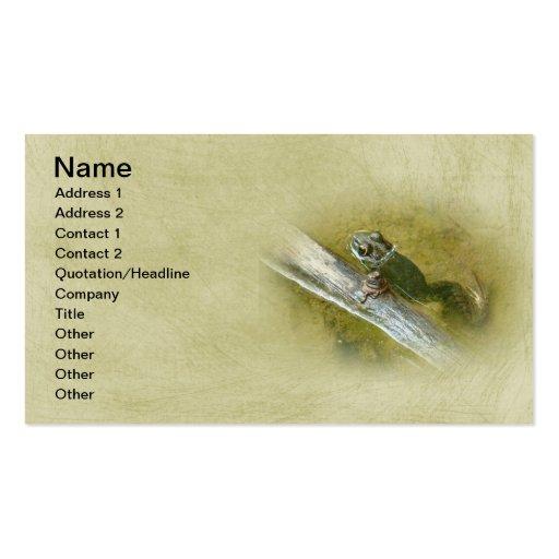 American Bullfrog - Rana catesbeiana Business Cards