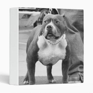 American Bully Dog 3 Ring Binder