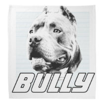 American bully dog bandana