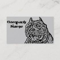 American Bully Dog Business Card