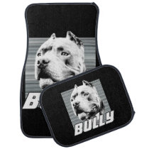 American Bully dog car mats