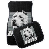 American Bully dog car mats