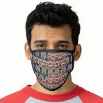 American bully dog face mask