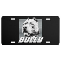 American bully dog license plate