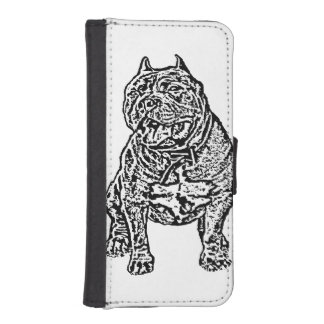 American Bully dog Phone Wallets
