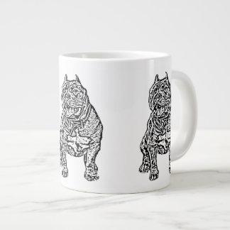 American Bully Dog 20 Oz Large Ceramic Coffee Mug