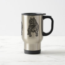 American Bully Dog Travel Mug