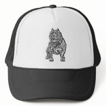 American Bully Dog Trucker Hat