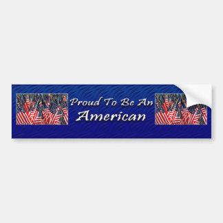 American Bumper Sticker Car Bumper Sticker