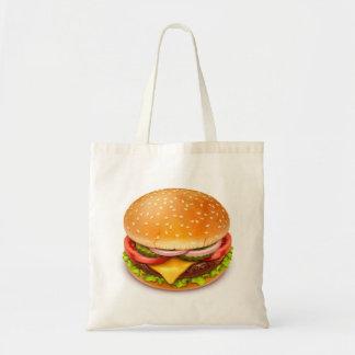 American Burger Budget Tote Bag