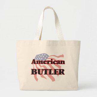 American Butler Jumbo Tote Bag