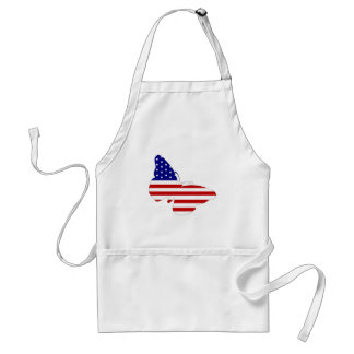 American Butterfly Adult Apron