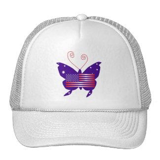 American Butterfly Diva Trucker Hat