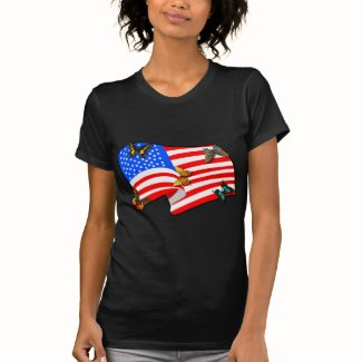 American Butterflys t-shirts