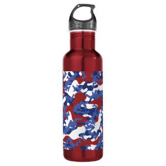 American Camo Aluminum Water Bottle