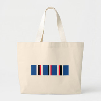 American Campaigne Medal Ribbon Large Tote Bag