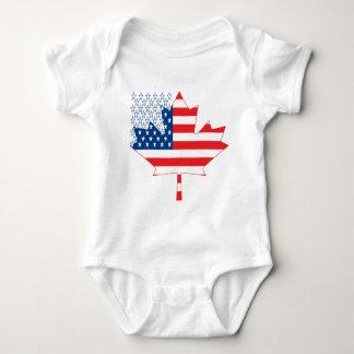 American Canadian.ai Baby Bodysuit