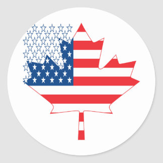 American Canadian.ai Classic Round Sticker