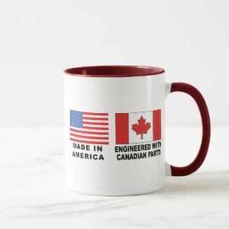 American Canadian Mug