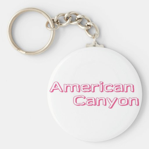 American Canyon Keychains