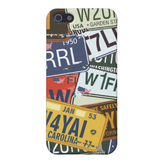American  Car Licence Plates iPhone 5 Case