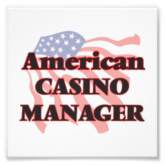 American Casino Manager Photo Print