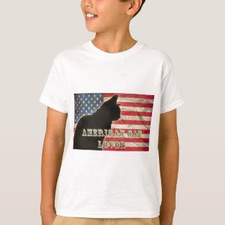 AMERICAN CAT LOVER T-Shirt