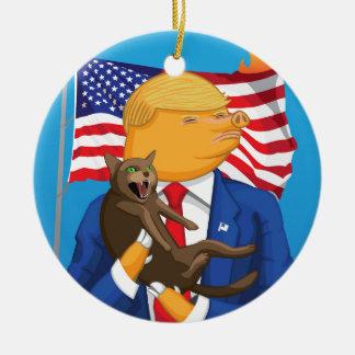 American Catastrophe Ceramic Ornament