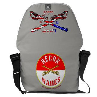 American Cavalry Rickshaw Large Zero Messenger Bag