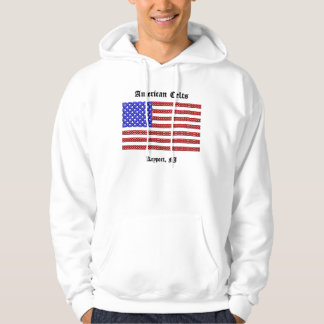 American Celts knot flag hoodie