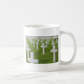 American Cemetery at Normandy Coffee Mug