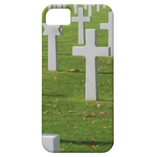 American Cemetery at Normandy iPhone 5 Cover