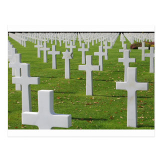 American Cemetery at Normandy Postcard