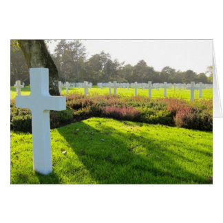 American Cemetery Card