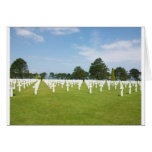 American Cemetery in France Card