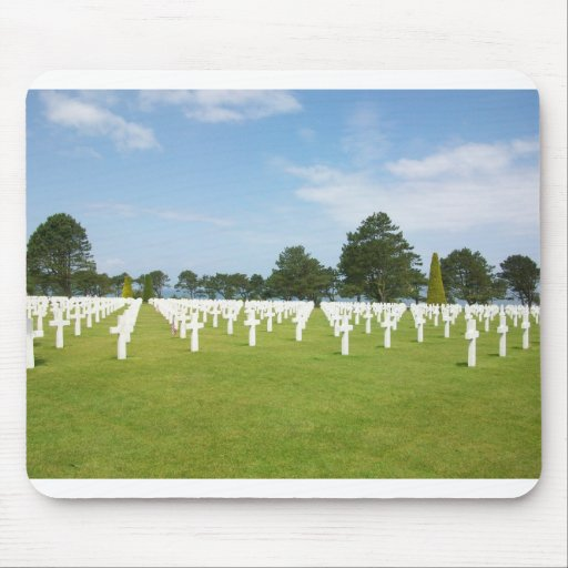 American Cemetery in France Mouse Pad